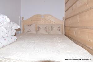 Sypialnia Apartamentu Cicha Woda Kościelisko
